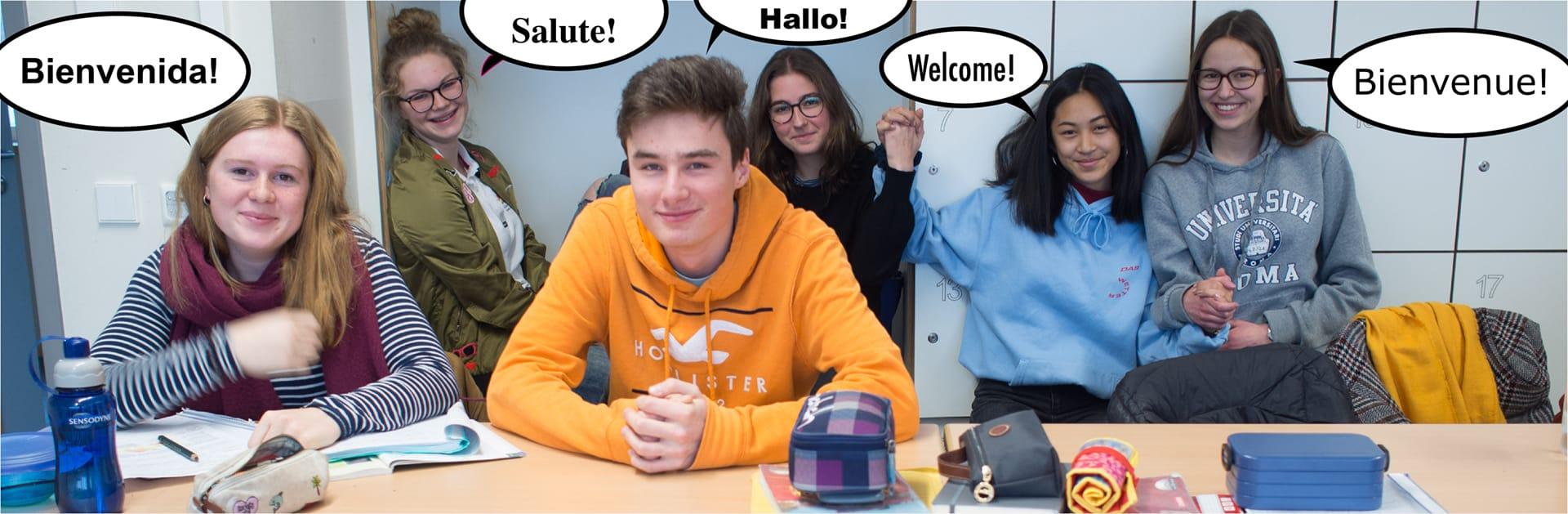 Wir können uns kennenlernen französisch
